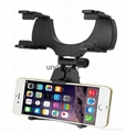 Universal Car Rear View Mirror Mount Mobile phone car holder