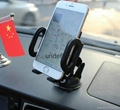 2017 newest  black plastic universal car mount holder dashboard suction air vent