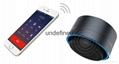 New Design Mini Portable Speakers Metal Wireless Bluetooth Speaker With FM Radio