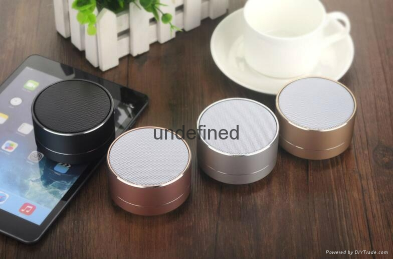 New Design Mini Portable Speakers Metal Wireless Bluetooth Speaker With FM Radio 9