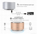 New Design Mini Portable Speakers Metal Wireless Bluetooth Speaker With FM Radio 15