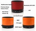 2017 New Fashion S10 BT 3.0+EDR Wireless Portable Mini speaker With FM Radio 9
