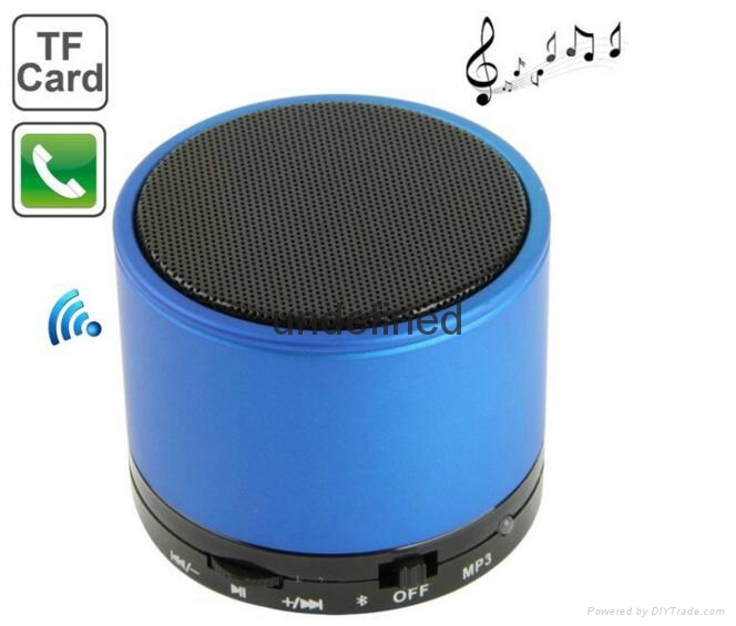 2017 New Fashion S10 BT 3.0+EDR Wireless Portable Mini speaker With FM Radio 1