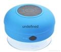 Stereo Wireless Speaker Waterproof Bluetooth Speaker with Sucker Handfree Call