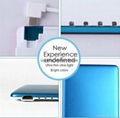 Super slim card size Portable Charger 3200mAh Power Bank with Built-in cable