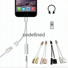 8pin to 3.5MM earphone H