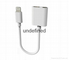 3.5mm aduio cable for iphone 7 Audio Earphone Adapter Charging Cable Converter