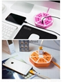 2017 HOT 4-Outlet with 4 USB Hexagon Socket Creative Protector Power Socket