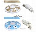 New Design UFO Shape 5 outlets Dual USB Electrical Multiple Plug Socket