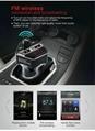 2017 New  Car MP3 Player Bluetooth FM Transmitter Wireless HandsFree Call Auto