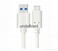 USB 3.0 Standard-A to 3.1 USB Type-C 10Gbps Fast Data Sync Charging Cable