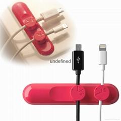 factory Magnetic USB Cable Clip Desktop Cable Clips & Cord Management