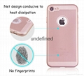 2017 hot new products heat dissipation pc hard phone case for iphone 7