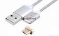 2nd generation magnetic charging usb cable for iPhone 5, 5c, 5s, SE, 6, 6 Plus,