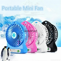 Colorful Portable Mini Fan , Fashion Rechargeable Mini Usb Fan ,Electric Fan