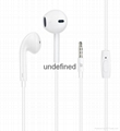 Factory wholesale 3.5mm universal earphone for Iphone6,6plus with Crystal Box