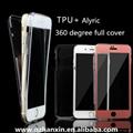 360° full cover soft tpu + alyric 2-in-1