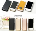 5600mAh backup battery case for iphone6  power case with stand holder
