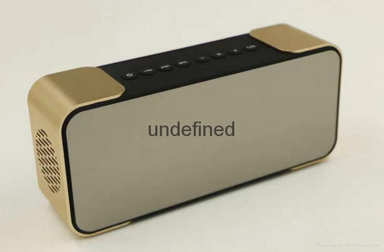 Portable Wireless Bluetooth Speaker PTH-305 Support FM Radio TF Time/Alarm Clock 6