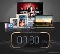 Portable Wireless Bluetooth Speaker PTH-305 Support FM Radio TF Time/Alarm Clock 10
