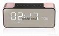 Portable Wireless Bluetooth Speaker PTH-305 Support FM Radio TF Time/Alarm Clock 2