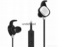 Fashion in-ear stereo bluetooth headset, bluetooth earphone for sport 2