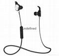 Fashion in-ear stereo bluetooth headset, bluetooth earphone for sport