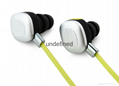 Fashion in-ear stereo bluetooth headset, bluetooth earphone for sport 6