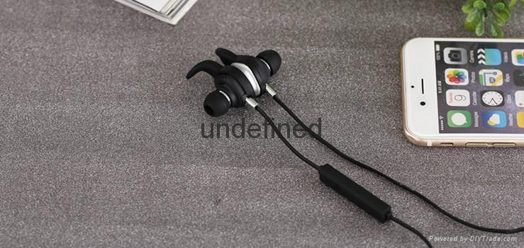 Fashion in-ear stereo bluetooth headset, bluetooth earphone for sport 8