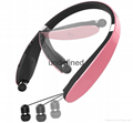 HBS 910 CSR 4.0 Wireless Bluetooth Headphones Sports Neckband Earphone Handsfree
