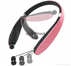 HBS 910 CSR 4.0 Wireless Bluetooth Headphones Sports Neckband Earphone Handsfree (Hot Product - 1*)