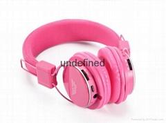Wireless bluetooth headphones support TF card FM radio sports headphone