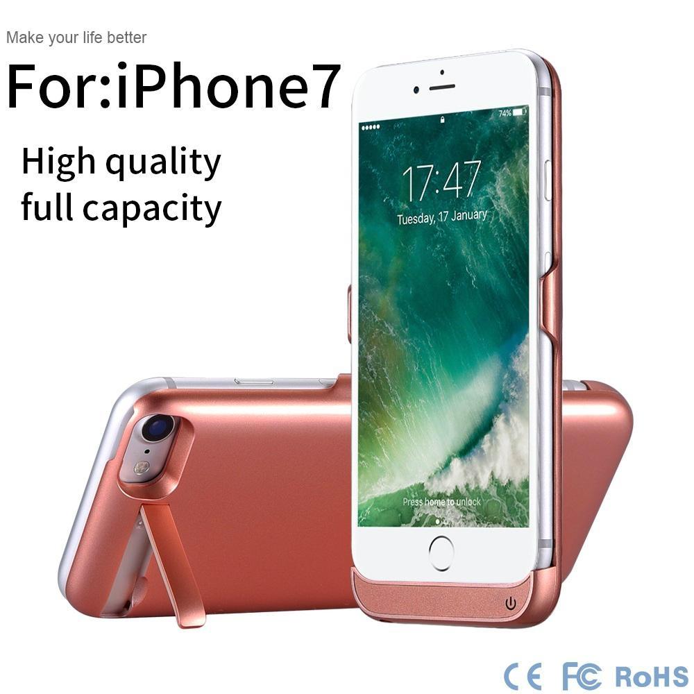 High full Capacity 5000 mAh battery case,power case for iphone power bank case,for iphone 7 battery case