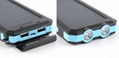 8000mah Waterproof Solar Power Bank Portable Mobile Phone Charger with Compass 3