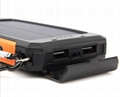 8000mah Waterproof Solar Power Bank Portable Mobile Phone Charger with Compass 9