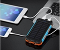 8000mah Waterproof Solar Power Bank Portable Mobile Phone Charger with Compass