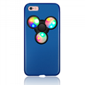 2017 New Product Phone Case LED Fidget Hand Spinner 2 In 1  Mobile Phone Cover