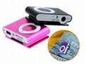 wholesale multicolors sport clip mini MP3 player with TF/SD card slot