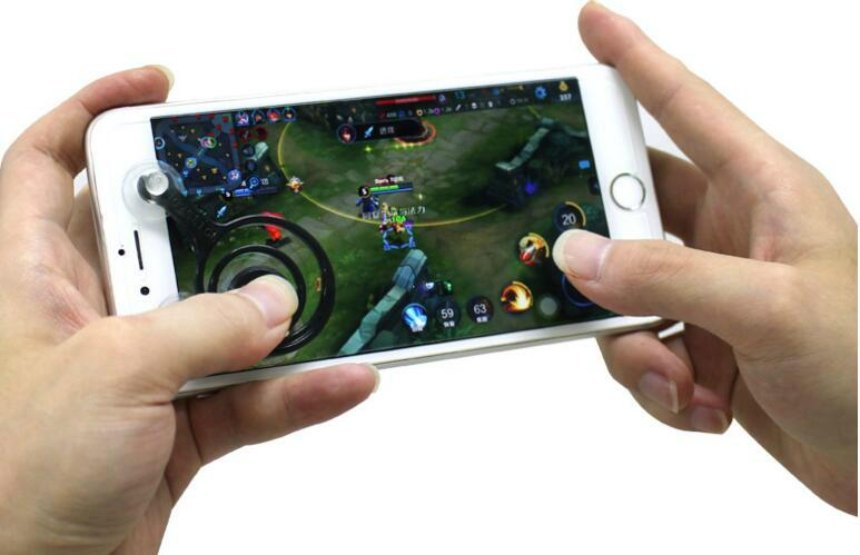 mobile touch screen mini mobile joystick for android iphone and ipad touch 2