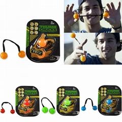 2017 New design Led Thumb Chucks toy fidget toy yoyo ball