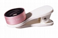 universal clip lens super wide angle 0.4x selfie camera lens for mobile phone