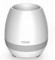 multi-color light smart music flower-pots bluetooth speaker 4