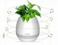 multi-color light smart music flower-pots bluetooth speaker 1