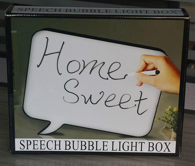Acrylic street light advertising light box with pens writing 8
