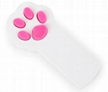 Laser Cat Toy 5 Colors Footprints Laser Pointer Toys Cat Paw Beam Interactive