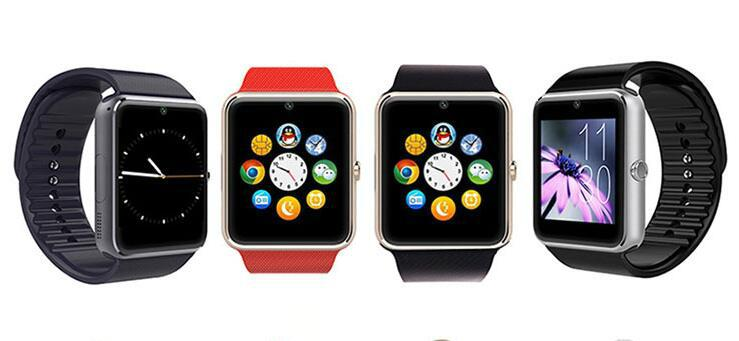 Bluetooth Smart Watch GT08 With Sim Card slot wearable devices sports watch  3