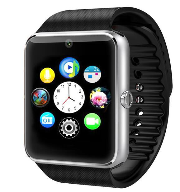 Bluetooth Smart Watch GT08 With Sim Card slot wearable devices sports watch  5