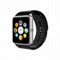 Bluetooth Smart Watch GT08 With Sim Card slot wearable devices sports watch  7