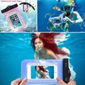 High quality mobile phone waterproof bag waterproof dry pouch for iphone 7