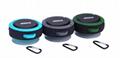 2017 Good design portable handle waterproof bluetooth speaker for outdoor Sports 3